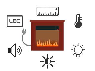 Обозначения функций в названиях электрокаминов