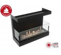 Встраиваемый биокамин Lux Fire 640 S (фронтальный)