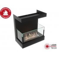 Встроенный биокамин Lux Fire Фронтальный 440 S
