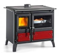 Дровяная отопительно-варочная печь La Nordica Milly Bordo / Bianco (кухонная печь Милли)