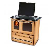 Дровяная отопительно-варочная печь La Nordica SOVRANA EVO BI/NE/MF/CP (кухонная печь Соврана)