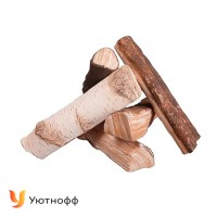 Декоративные элементы Микст для биокаминов (керамические дрова)