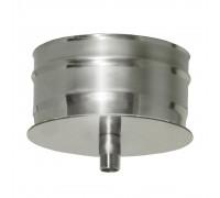 Конденсатосборник без изоляции Дымок для дымохода 120 мм (0,5 мм)