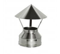 Зонт на трубу дымохода с изоляцией Дымок 200/280 мм (0,5 мм)