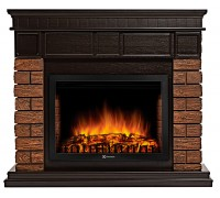 Каминокомплект Брикс Вуд 25 (портал Bricks Wood 25 + очаг Electrolux EFP/P - 2520LS)