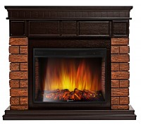 Каминокомплект Брикс Вуд 27 (портал Bricks Wood 25 + очаг Electrolux EFP/P - 2720LS)
