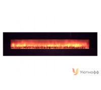 Электрокамин Glenrich Genius 240 Black Glass (настенный очаг Джениус 240)