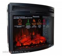 Электрокамин InterFlame Panoramic 25 LED FX Grey (очаг Панорамик 25 серый кирпич)