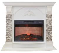 Каминокомплект Афина Грей (портал RealFlame Athena GR 24/25,5 WT + очаг Kendal / Eridan / Irvine)