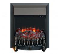 Электрокамин Fobos Lux Black S (очаг Фобос Люкс со звуком)
