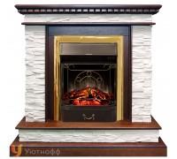 Каминокомплект Калгари (портал Royal Flame Calgary + очаг Fobos / Majestic FX M)