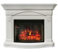 Каминокомплект Сидней 25 белый дуб (портал Royal Flame Sydney WT + очаг Dioramic 25 LED FX)
