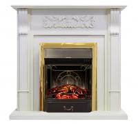 Каминокомплект Венеция белый (портал Royal Flame Venice STD WT + очаг Fobos / Majestic)