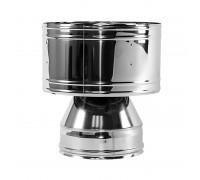 Дефлектор с изоляцией Вулкан для дымохода 150/250 мм (0.5 мм)