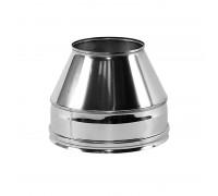 """Конус """"Факел"""" с изоляцией Вулкан для дымохода 130/230 мм (0.5 мм)"""