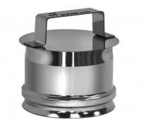 Ревизия на трубу D150 без изоляции Вулкан для дымохода (0.5 мм)