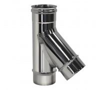 Тройник 45º без изоляции D180 Вулкан для дымохода (0.5 мм)