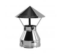 Зонт с изоляцией Вулкан V50R для дымохода 104/200 мм (0.5 мм)