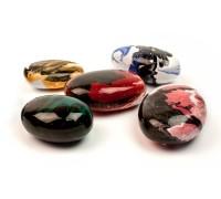 Декоративные камни керамические разноцветные 14 штук